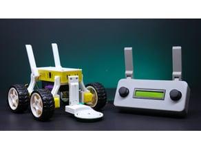 DIY Arduino Metal Detector Robot
