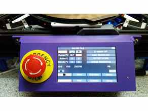 Duet WiFi Panel Due 5 Inch LCD Enclosure