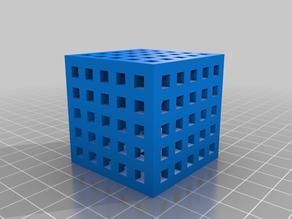 Build Plate Cube compatible with Plus Plus
