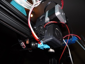Direct drive extruder adapter adding Prusa MK2 MK2s extruder to Creality Cr10 or similar
