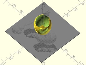 Stereographic photo