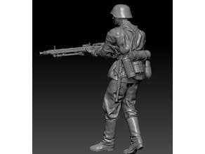 German MG Gunner
