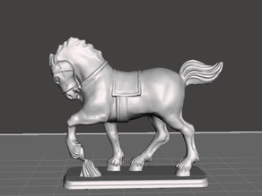 Supportless_Hussars_Horse/pistoliers_horse