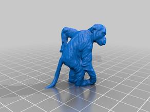 Chimp, GDR/DDR Figurine - 3D Scan