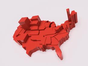 US States Electoral Voting Power (Votes/Population)