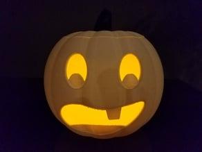 Jack-O'-Lantern Baby Face