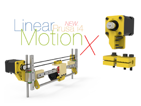 linear X-Axis Upgrade for Prusa i4