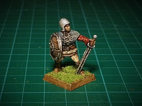 Bandit with sword 28mm (no supports needed)