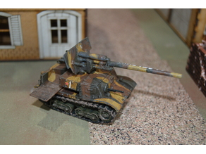 28mm Zis-30 Soviet Tank Destroyer - WW2