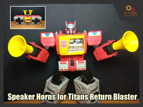 Speaker Horns for Transformers Titans Return Blaster
