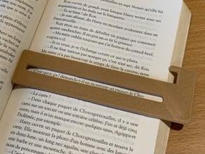 Reading ruler / Bookmark