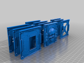 Batch o Bulkheads - For Scenic Crafters (necromunda)