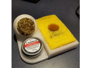Soldering Iron Tip Cleaner / with Tip Tinner