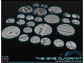 """1"""" & 2' Round Bases - The Ignis Quadrant"""