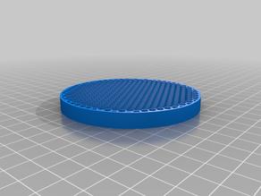 Round soap holder