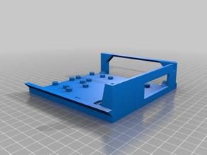 Ender 3 AIO Rear Case SKR v1.3 Dual Fan Top