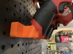 Pegboard Mount for Milwaukee M12 Tools
