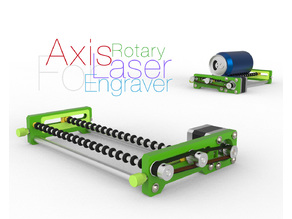 Rotary Axis for Laser Engraver