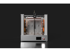 CrazyCreatorCube - Tool Changer with Remote Drives and Extruder