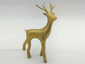Youngster Christmas Deer