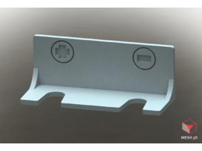 Soporte PEG para dos destornilladores Stanley; PEG mount for 2 Stanley screwdrivers