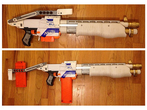 Nerf SPAS-12 Styled Collapsible Stock
