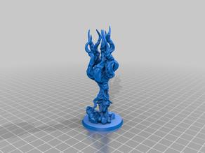 Ectomorph Monster Figure - The Filthy Soul (sample)