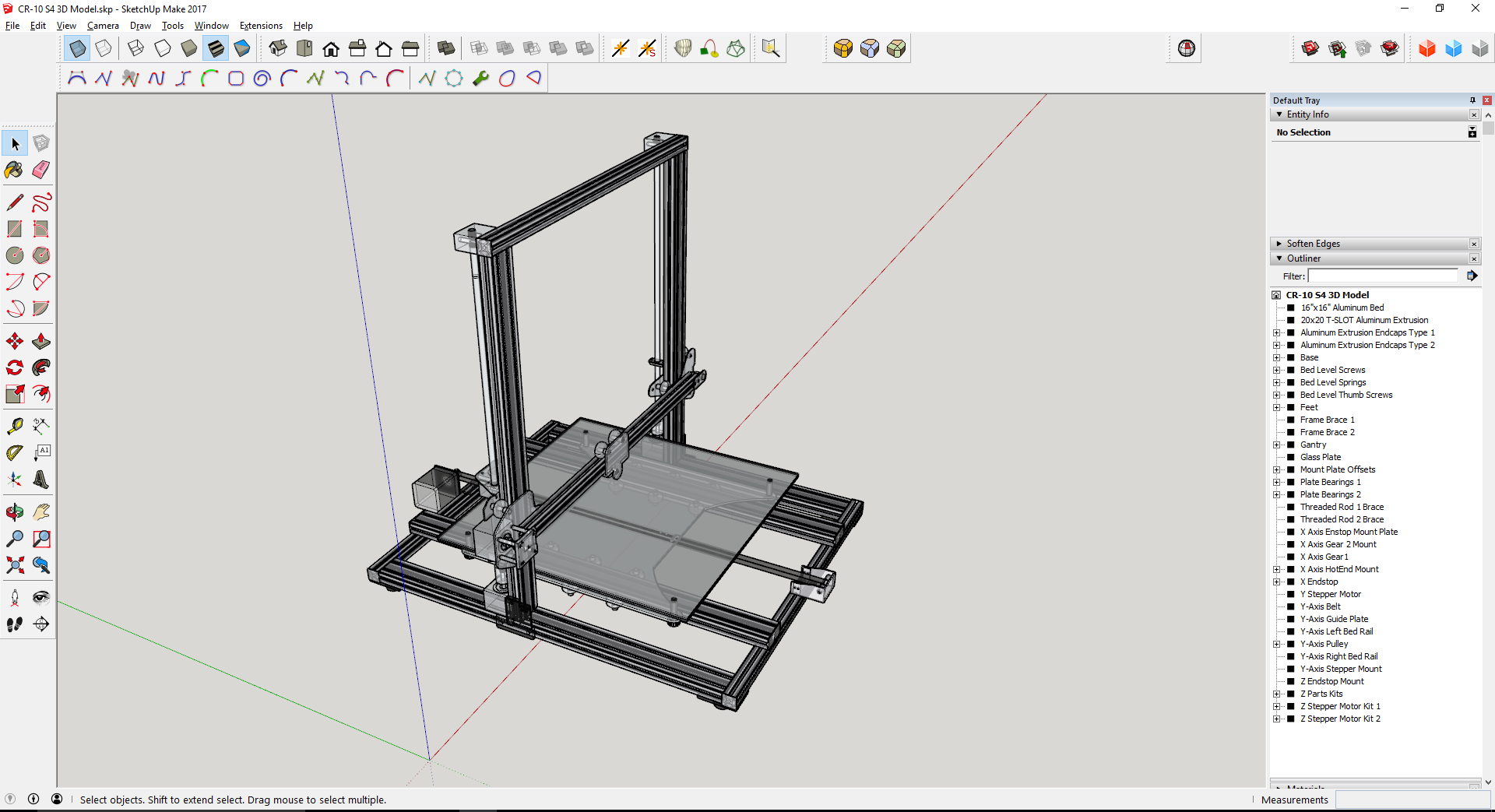 creality cr 10 s4 by jdub1981 thingiverse. Black Bedroom Furniture Sets. Home Design Ideas