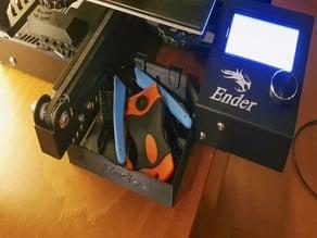Ender 3 sliding tool tray
