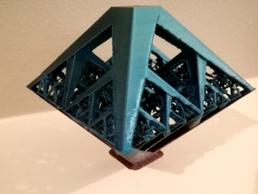 Fractal pyramid