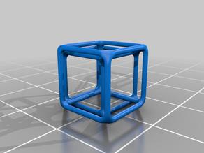 Oblique Projection of a Hypercube