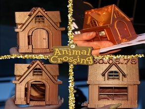 Animal Crossing house money bank