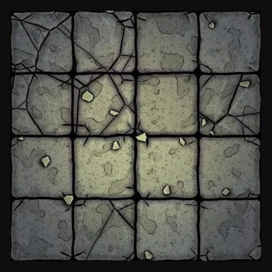 Stone Old Floor Tile
