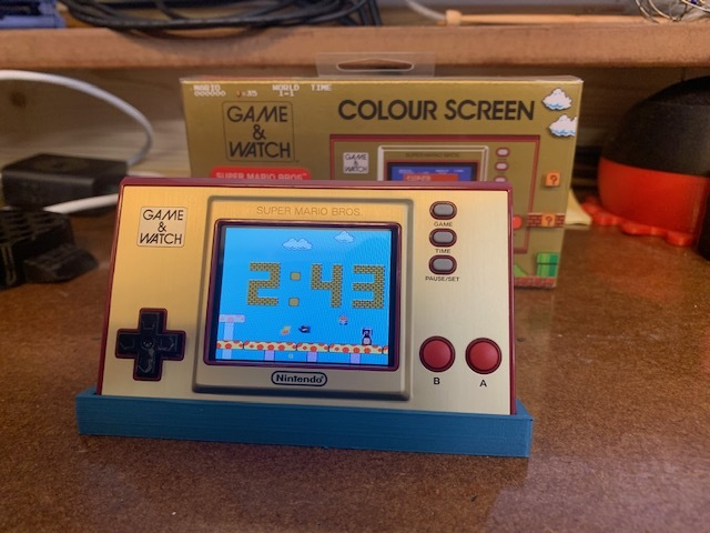 Nintendo Game and Watch Stand (Super Mario Bros)