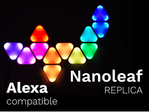 Smart Nanoleaf Replica