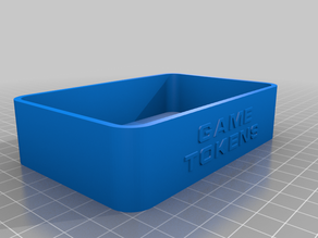 Game Token Boxes