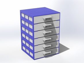 Economical Drawer 112x112mm box no supports needed