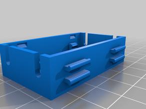 Remix Base of Buck converter tool-less snap-fit enclosure