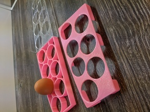Fridge Egg Tray curved - Kühlschrank Eierhalter gebogen