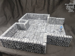 OpenForge 2.0 Rough Stone Separate Wall Primary Walls