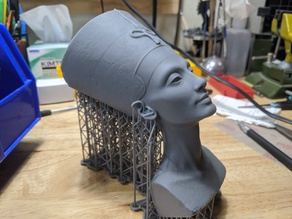 Bust of Nefertiti - Hollowed