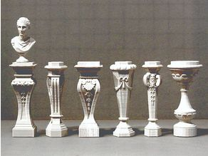 Six Classical Pedestals