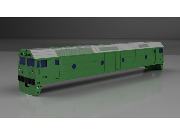 Australian National Bl Class Locomotive By Lkernan Thingiverse