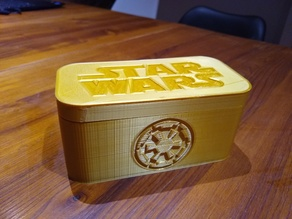 Star Wars Chess set box