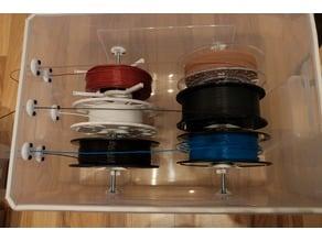 Ikea Samla Filament Dry and Storage Box To Print From