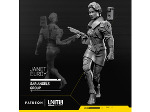 Janet Elroy - cyberpunk medic