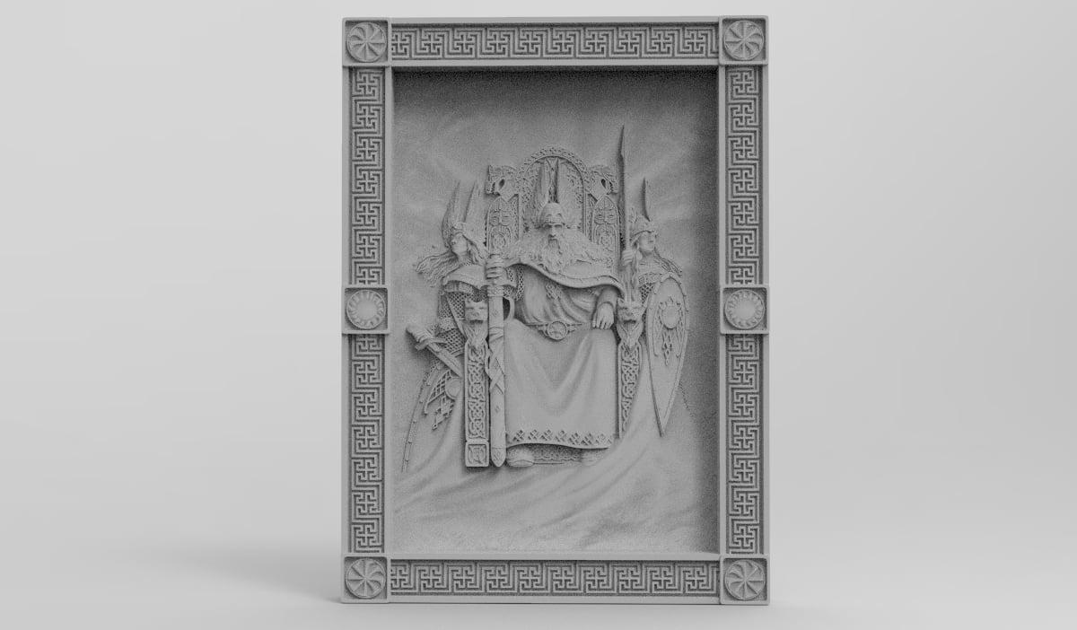 Slavic God Emperor (For CNC)