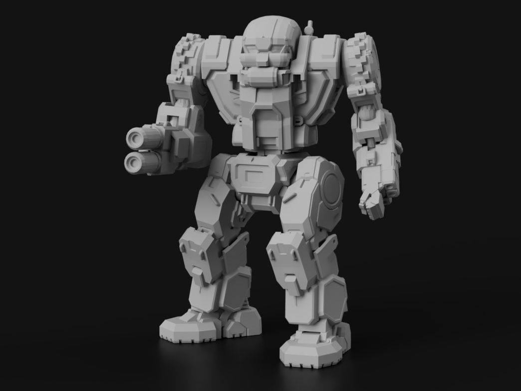 "GAR-Prime Gargoyle, AKA ""Man o' War"" for Battletech"