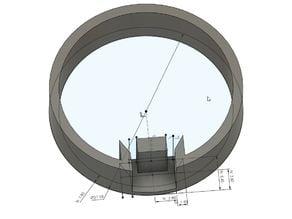 Lighsaber MHS V1 single tactile switch ring
