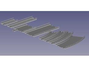 Bridge system Z scale 1:220, OLL v2